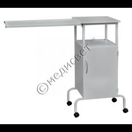 Тумбочка прикроватная ТП-1с со столиком из ДСП