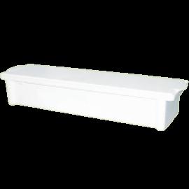 Емкость-контейнер полимерный для дезинфекции и предстерилизационной обработки мед.изделий ЕДПО-10-01 длинномерный
