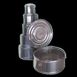 Коробка стерилизационная круглая с фильтром КСКФ-6 (Объем 6 дм3, Диаметр 245мм)