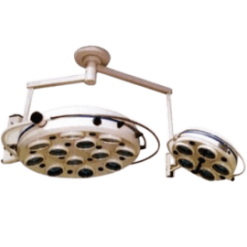 Светильник операционный бестеневой ZMD-II- БИОМЕД семнадцатирефлекторный потолочный (два блока, 12 и 5)