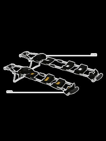 Набор шин для вытягивания ноги на носилках НШН-01