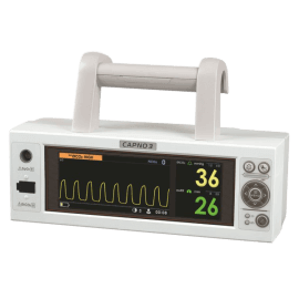 Монитор-капнограф CX210 (CAPNO3), комплектация: CS